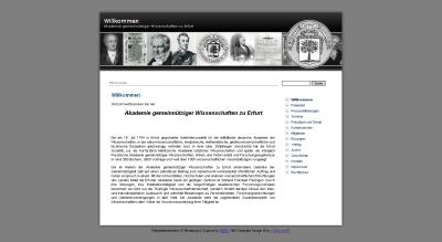 Screenshot des kostenlosen Websitebaker-Templates Rechtsanwalt